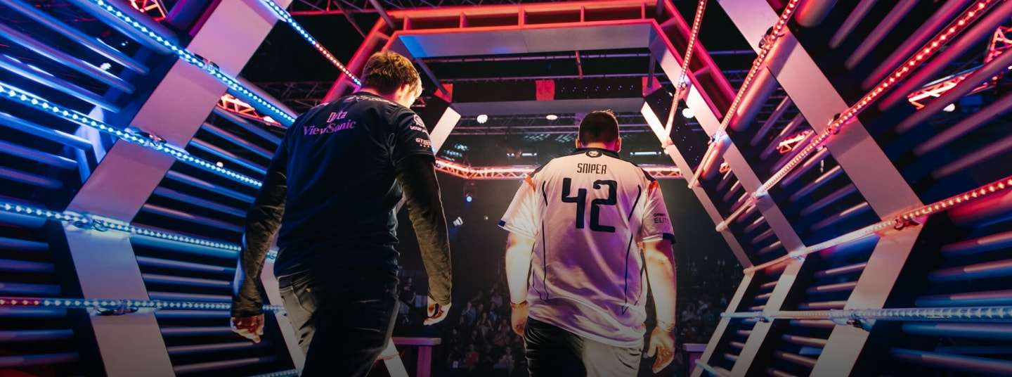 Gfinity Esports Players Entering the Arena | Gfinity Plc