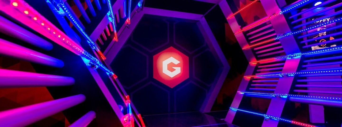 Gfinity Esports Arena Player Entrance | Gfinity Plc